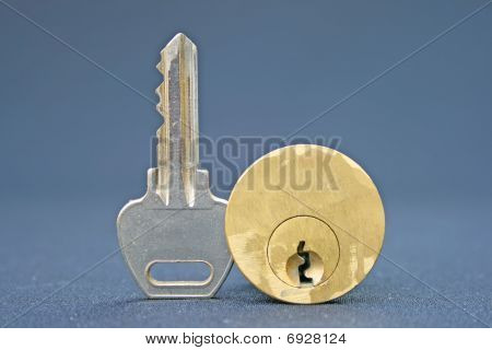 Key and lock