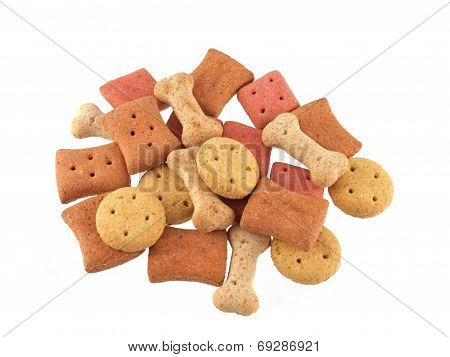 Assorted Shaped Dog Biscuits