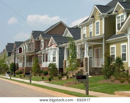 American Row Houses