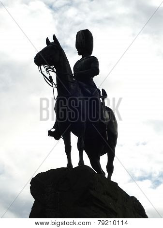 Edinburgh Royal Scots Greys Monument