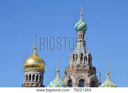 Orthodox Cathedral Spas Na Krovi