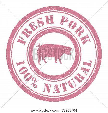 Fresh Pork Stamp