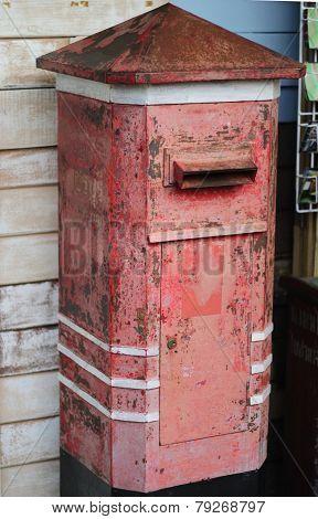 Traditional Thailand Post Box