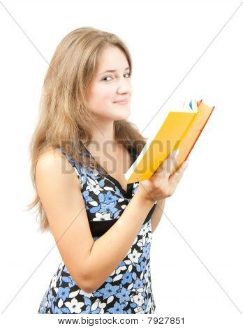 Young Girl With Book