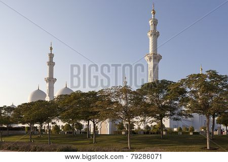Sheikh Zayed Mosque. Abu Dhabi. UAE.