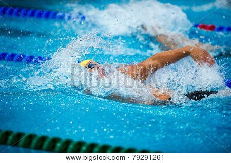 Backstroke Swimmer