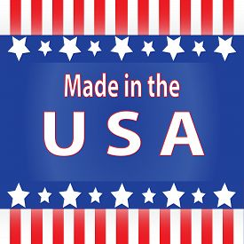 Red White And Blue Made In The Usa
