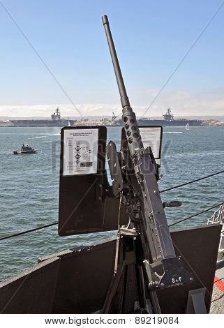 USN .50 Caliber Heavy Machinegun