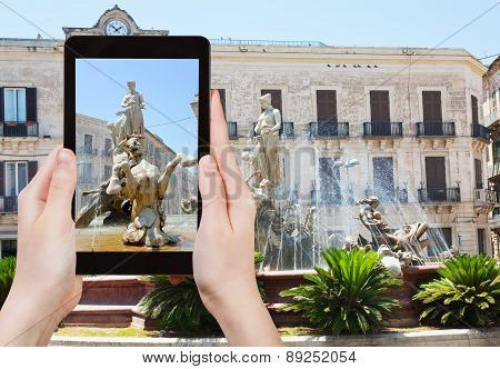 Photo Of Piazza Archimede In Syracuse, Italy
