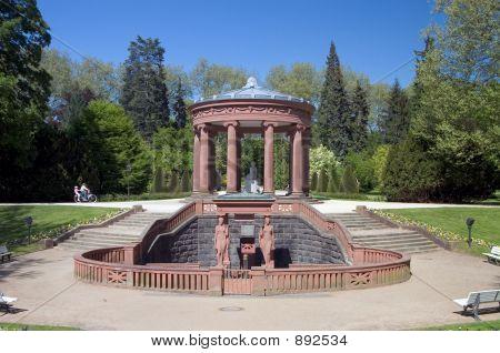 Kurpark Water Fountain