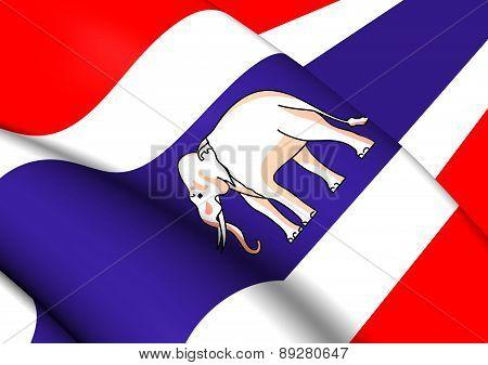 Ambassador Standard And Consular Of Siam Flag