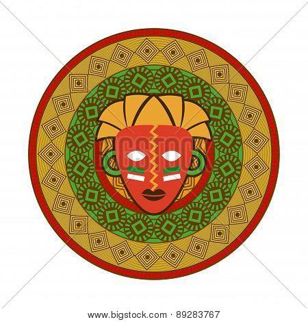 Africa design over white background vector illustration