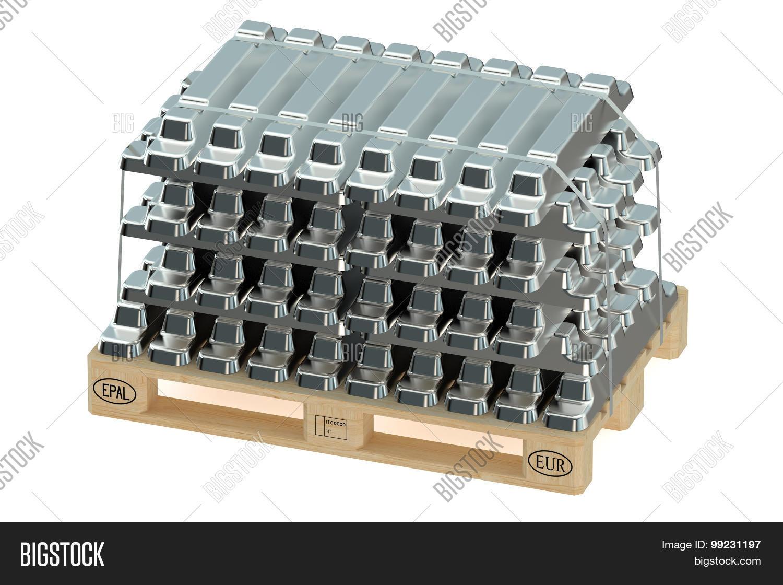 aluminum ingots on image photo free trial bigstock