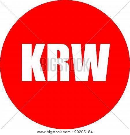 Krw Icon