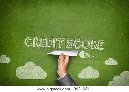 Credit score concept