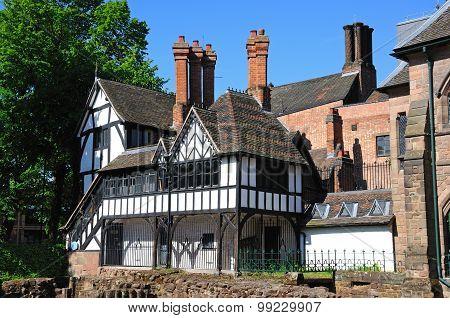 St Mary Priory Gardens Buildings, Coventry.