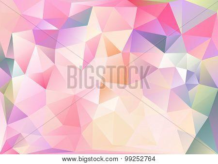 Cubism background Asia vivid multicolor