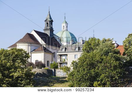Church Of Sts. Benon In Warsaw, Poland