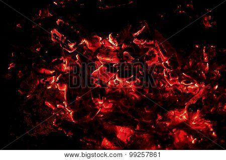 Coals Fire Bonfire