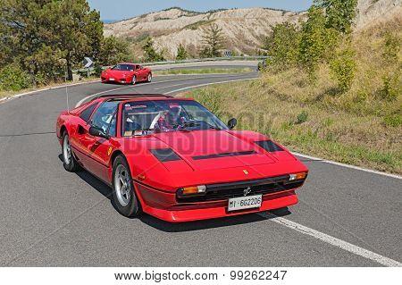 Vintage Ferrari 208 Gts Turbo