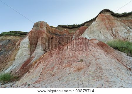 Clay Cliffs On Aquinnah Beach