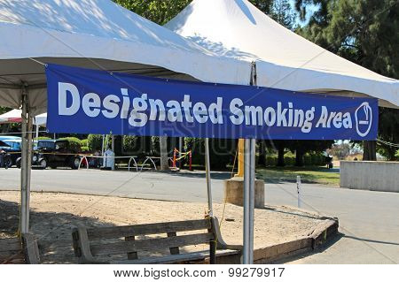 Designated Smoking Area