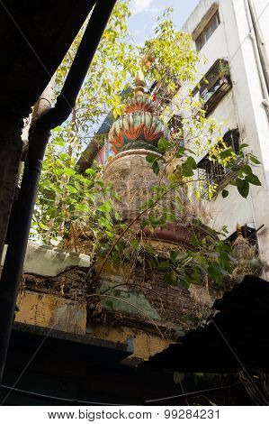 Unkept Hindu Temple