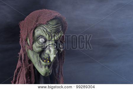 Spooky Halloween Witch