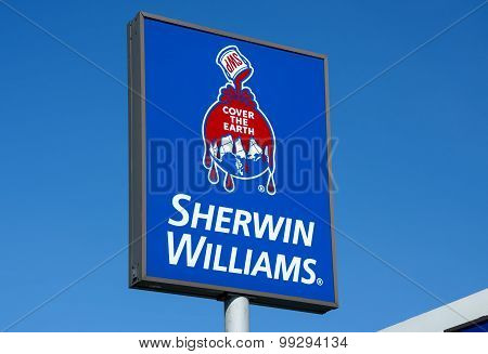 Sherwin-williams Sign And Logo