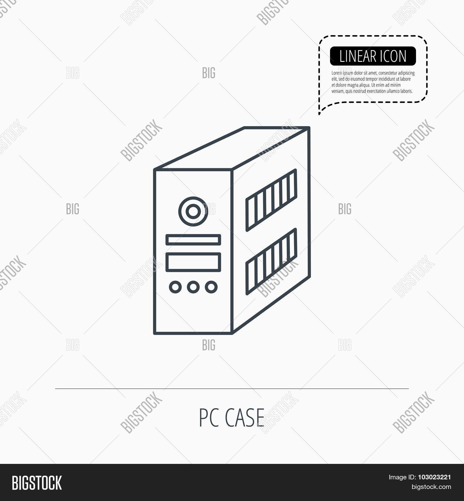Computer Server Icon Vector & Photo (Free Trial)   Bigstock