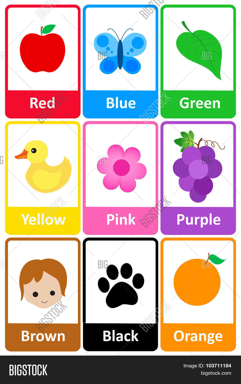 Truth Of The Talisman Colors Flashcards Free