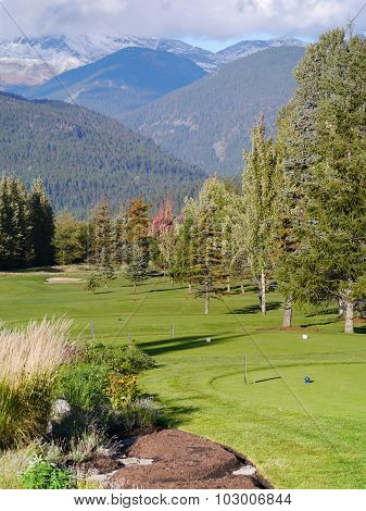 Nicklaus North Golf Course in Whistler British Columbia