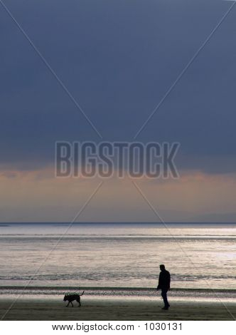 Man And Dog 002