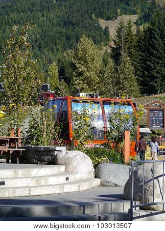Early Summer at the Base of Whistler Mountain
