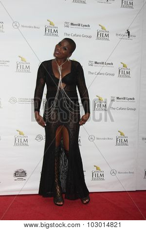 LOS ANGELES - SEP 26:  Janice Freeman at the Catalina Film Festival Saturday Gala at the Avalon Theater on September 26, 2015 in Avalon, CA