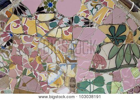 Gaudi Pink Tiles