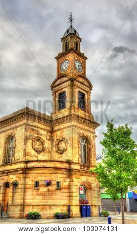 Clock Tower Of Coleraine Town Hall - Northern Ireland