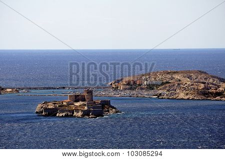 The Castle Of If And The Island Of Frioul