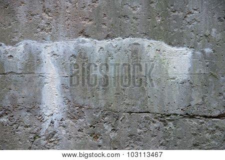 Conctete Salt Leaching White