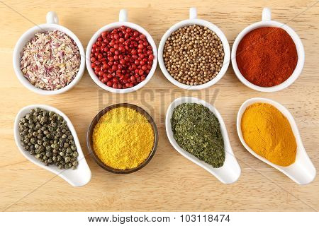 Colorful Spices.