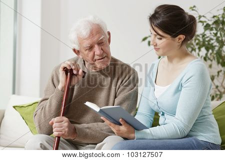Yong Carer Reading Book