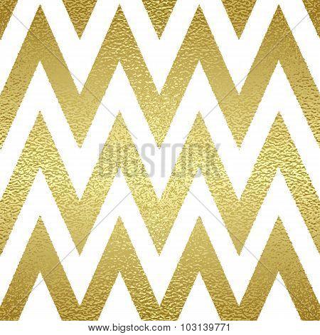 Pattern in zigzag.