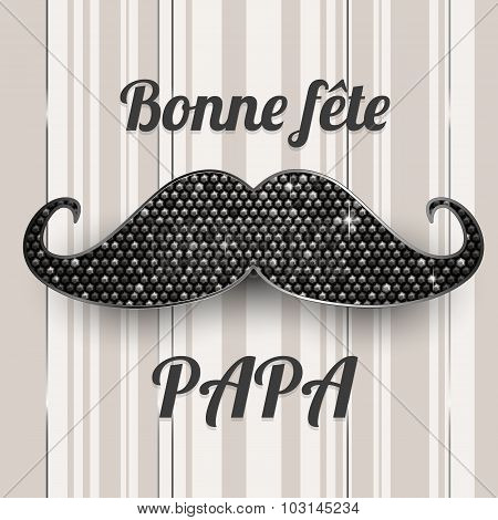 French Father's Day Card