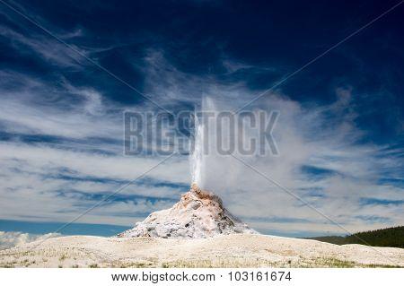 White Dome Erupts