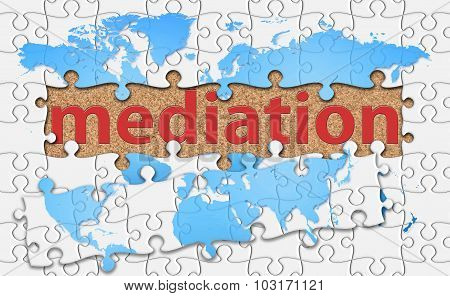 Mediation Word With Reveal Jigsaw