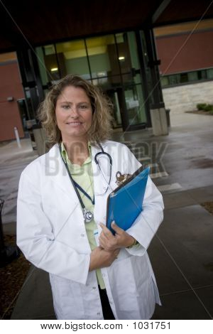 Female Medical Professional