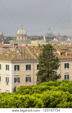 Roofs Of Roma, Italia