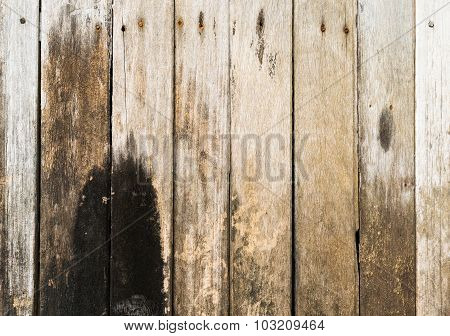 Old Plank Wall