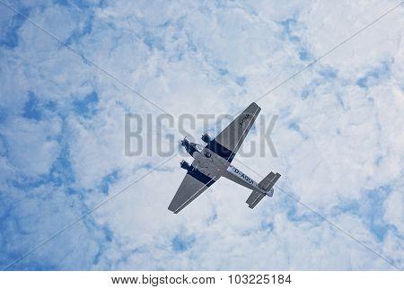 Junkers Ju52 D-aqui  Flights Over The Taunus Region