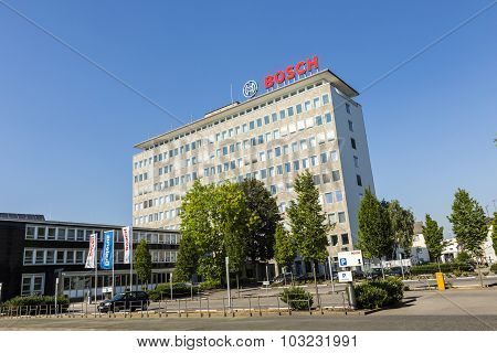 The Letters Bosch At The Headquarter In Wetzlar